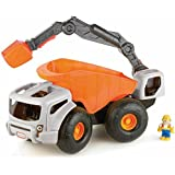 Little Tikes - 633195m - Jeu Éducatif - Grand Camion De Chantier - Orange