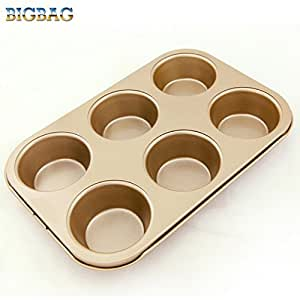 Amazon.com: LOHOME® Quiche Pan Mini Cupcakes Torte Souffle Cheesecake