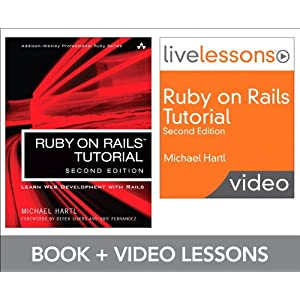 Ruby on Rails Tutorial and LiveLesson Video Bundle: Learn Web Development with Rails (Livelessons)