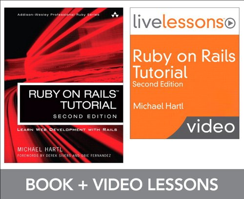 Ruby on Rails Tutorial and LiveLesson Video Bundle: Learn Web Development with Rails (2nd Edition) (LiveLessons)の詳細を見る