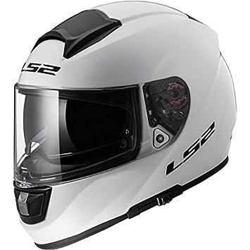 LS2 Helmets - Casque LS2 VECTOR SOLID FF397 - Blanc - 2XS