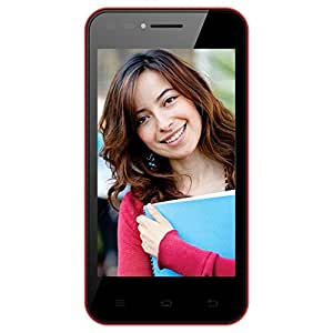 Celkon Campus Whizz Q42 (Black-Red)
