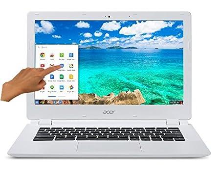 """Acer Chromebook CB5-311P-T4S8 Tactile 13,3"""" Blanc (Nvidia Tegra, 4 Go de RAM, Disque dur SSD 32 Go, Chrome OS)"""