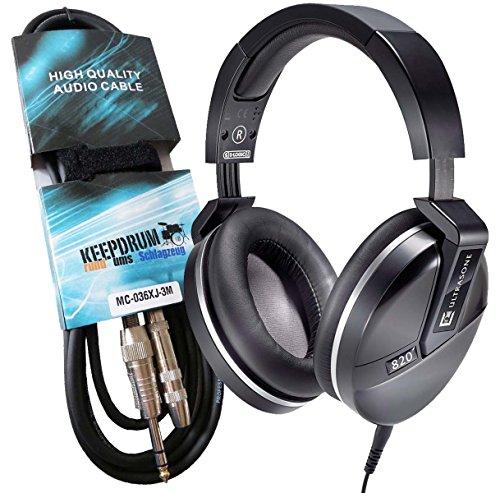 ultrasone-performance-820-noir-hifi-casque-keepdrum-verlangeurngskabel-professionnel-3-m