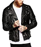 LeatherJacket4u Men's Moto Leather Jacket Mj 0263