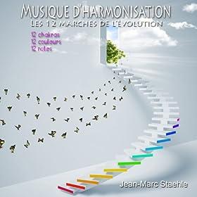 Musique d'harmonisation (Les 12 marches de l'�volution: 12 chakras 12 couleurs 12 notes)