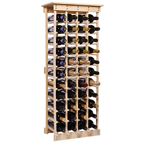 Compact Wood Wine Rack - W8 (Stact Modular Wine Rack White compare prices)