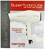 Turbo Power 325 Superf Turbo Lite 3300 Nano Tourmaline Ionic Ceramic Hair Dryer, 1700 Watt