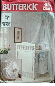 NURSERY SET - NETTLE CREEK - BUTTERICK CRAFT PATTERN 4689