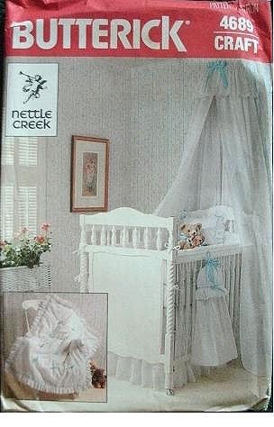 Nursery Set - Nettle Creek - Butterick Craft Pattern 4689