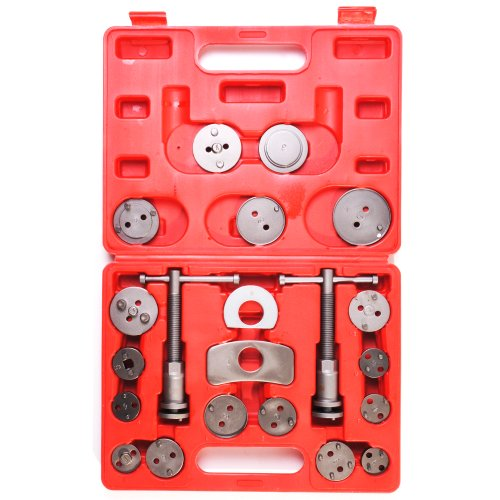 XXR TOOLS BRAKE CALIPER PISTON REWIND WIND BACK LEFT RIGHT HAND CAR VAN SET KIT