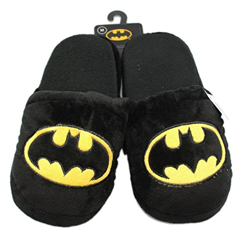 Black Batman Kids Slippers (Size Medium)
