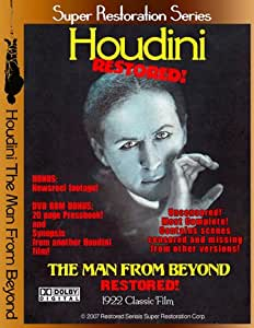 Houdini The Man From Beyond Restored! On a Scratch Proof DVD!
