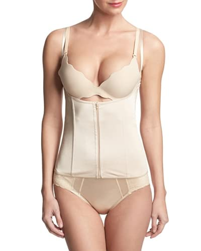 F.I.T. Shapewear Women's Zip It Front Corset Cincher