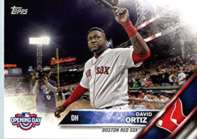 2016 Topps Opening Day #OD-138 David Ortiz Boston Red Sox Baseball Card