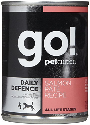 Go! Canned Dog Food, Salmon and Vegetable Formula (Pack of 12, 13.2 Ounce Cans) (Go Natural Dog Food compare prices)