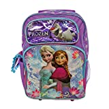 Ruz Disney Frozen Elsa and Anna Snowy Roller Backpack Bag