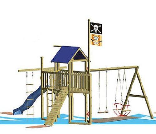WINNETOO Pirat 6 Spielturm günstig online kaufen