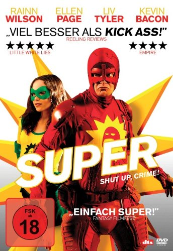 Super - Shut Up, Crime! [2 DVDs]