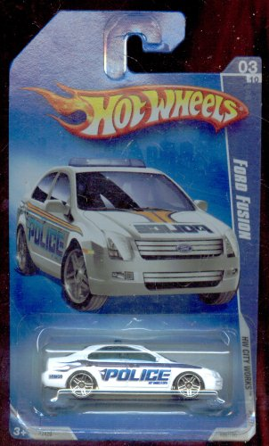 Hot Wheels 2009-109/190 Hw City Works 03/10 Ford Fusion 1:64 Scale