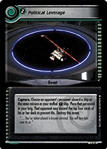 Star Trek Ccg 2e Energize Political Leverage 2u55