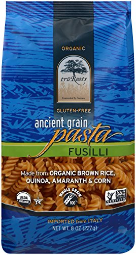 truRoots Ancient Grain Fusilli Pasta, 8 Ounce (Pack of 6) (Tru Roots Brown Rice compare prices)