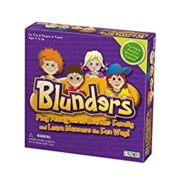 Blunders Game Learn Manners Social Skills Speech Therapy Special Needs Autism