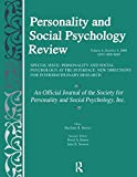 Personality and Social Psychology at the...