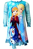 Disney Frozen Princesses Anna and Elsa With Olaf Nightgown for girls