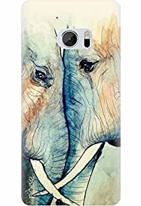 Noise Designer Printed Case / Cover for HTC 10 / Nature / GD