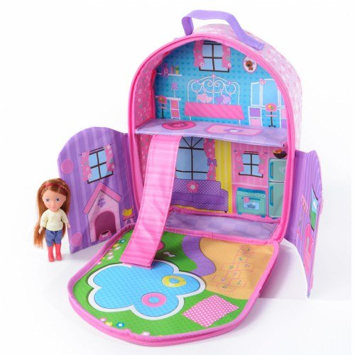 Neat-Oh Everyday Princess ZipBin 40 Doll Dollhouse Backpack with 1 Doll (Self Contained Doll House compare prices)