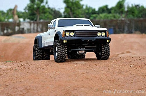 CROSS-RC PG4L 1:10 2-Speed 4WD RC Crawler Pickup Truck Kit (Rc 1 10 Trailer Kit compare prices)