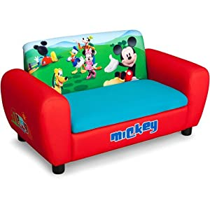 Disney Mickey Mouse Sofa with Storage by Delta