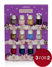 Limited Collection 12 Days of Christmas Mini Nail Polish Collection