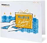 Amazon Gift Card &#8211; Print &#8211; Happy Birthday Cake