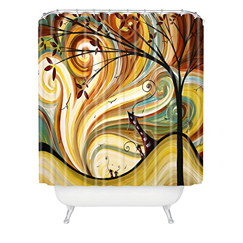 Deny Designs Madart Inc. Out West Extra Long Shower Curtain, 71 By 94-Inch front-383481