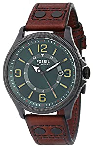 Fossil Men's FS4948 Analog Display Analog Quartz Brown Watch