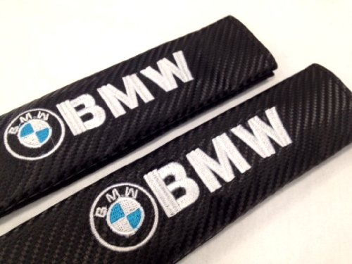 BMW-Carbon-Fiber-Seat-Belt-Cover-Shoulder-Pad-Cushion-2-pcs