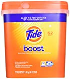 tide stain release boost duo pac in wash booster 62 count pouches