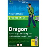 Dragon NaturallySpeaking Preferred Mobile 10.0 (PC DVD)by Nuance Communications,...