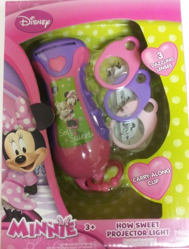 Minnie Mouse Bowtique Projector Light - 1