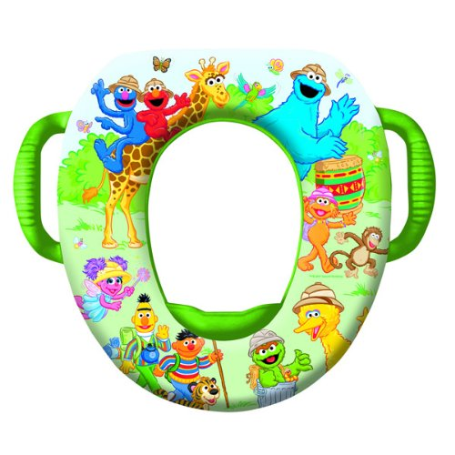 Sesame Street Safari Soft Potty Seat