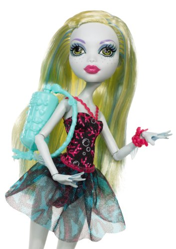 Monster High Dance Class Lagoona Blue Doll And Extra