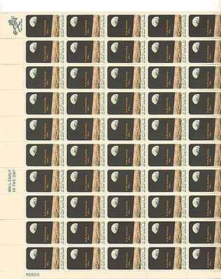 Apollo 8 Sheet of 50 x 6 Cent US Postage Stamps NEW Scot 1371