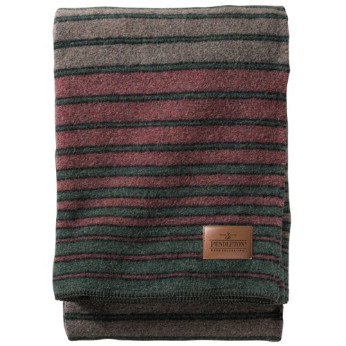 Pendleton Twin Camp Blanket Without Carrier - Hemrich Stripe front-118955