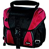 Hama Rexton 110 Digital SLR Camera and Equipment Bag - Black/Red