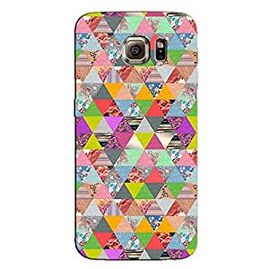 FLORAL AZTEC BACK COVER FOR SAMSUNG S6 EDGE