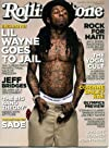 Rolling Stone February 18 2010 Lil Wayne on Cover, J.D. Salinger Tribute, Vancouver Winter Olympics Preview, Jeff Bridges/Crazy Heart, Dahn Yoga, Owl City, Rock for Haiti, Corinne Bailey Rae, Shutter Island, Sade's Return