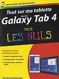 echange, troc Paul DURAND-DEGRANGES - Tout sur ma tablette Samsung Galaxy Tab 4 Pour les Nuls