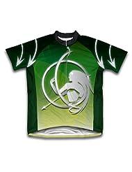 Sagittarius Short Sleeve Cycling Jersey for Women